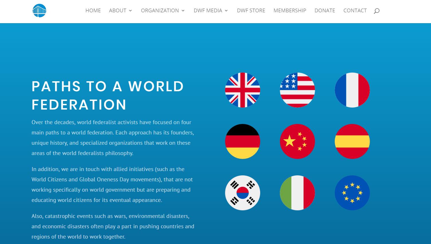 Paths To A World Federation Democratic Federalists