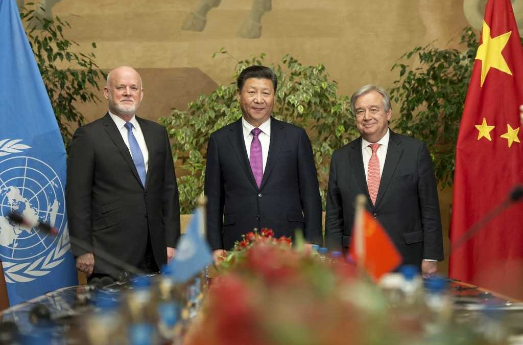 China's Notions of UN Reform: Filling the Growing Vacuum Left by the US