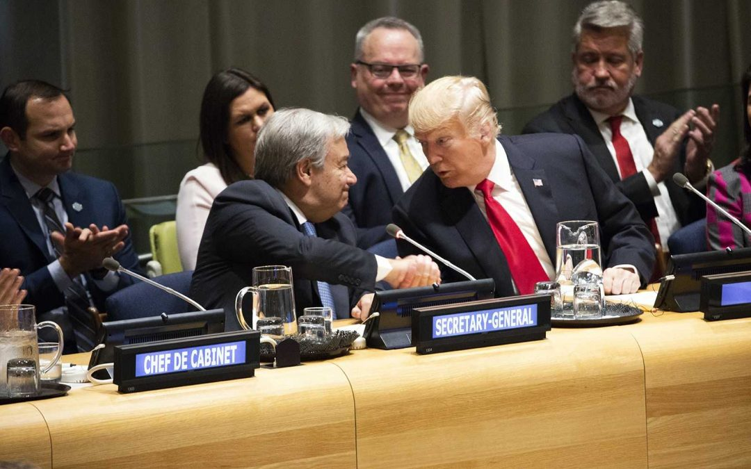Nations Contend With an Era of Chaos as Trump Offends the World at the UN
