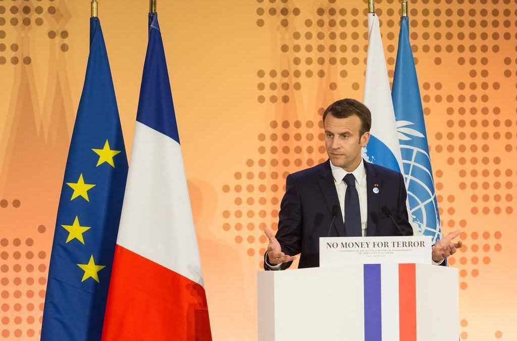 Emmanuel Macron calls for creation of a 'true European army' to defend against Russia and the US