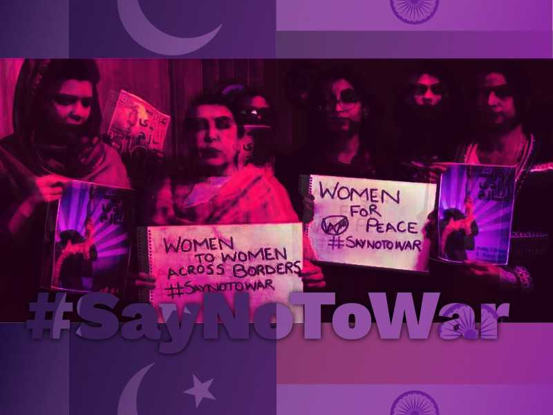 Pakistani Women Are Sending A Message of Peace to Indian Women and Urging to 'Say No to War'