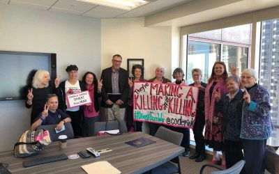 Berkeley Resolution No Investments in Weapons Makers!