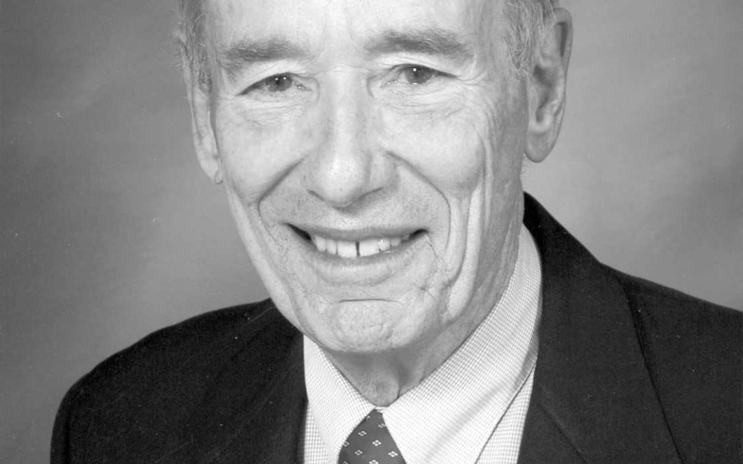 Dr. John Orval Sutter: 1926 – 2019